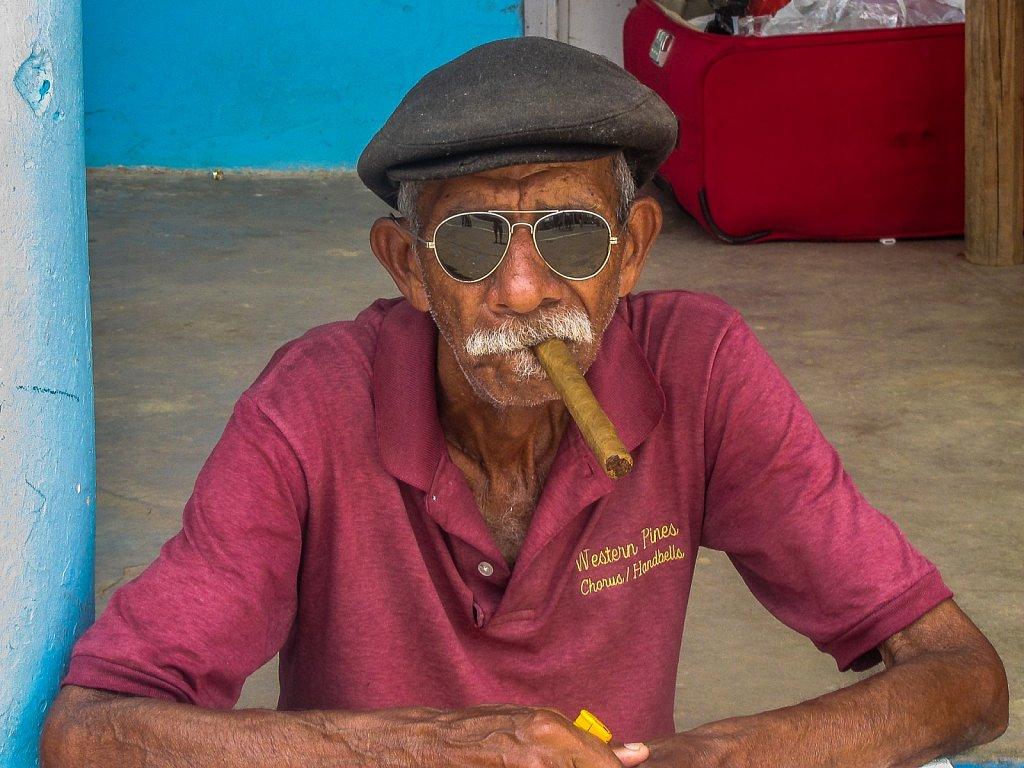 Old cuban man